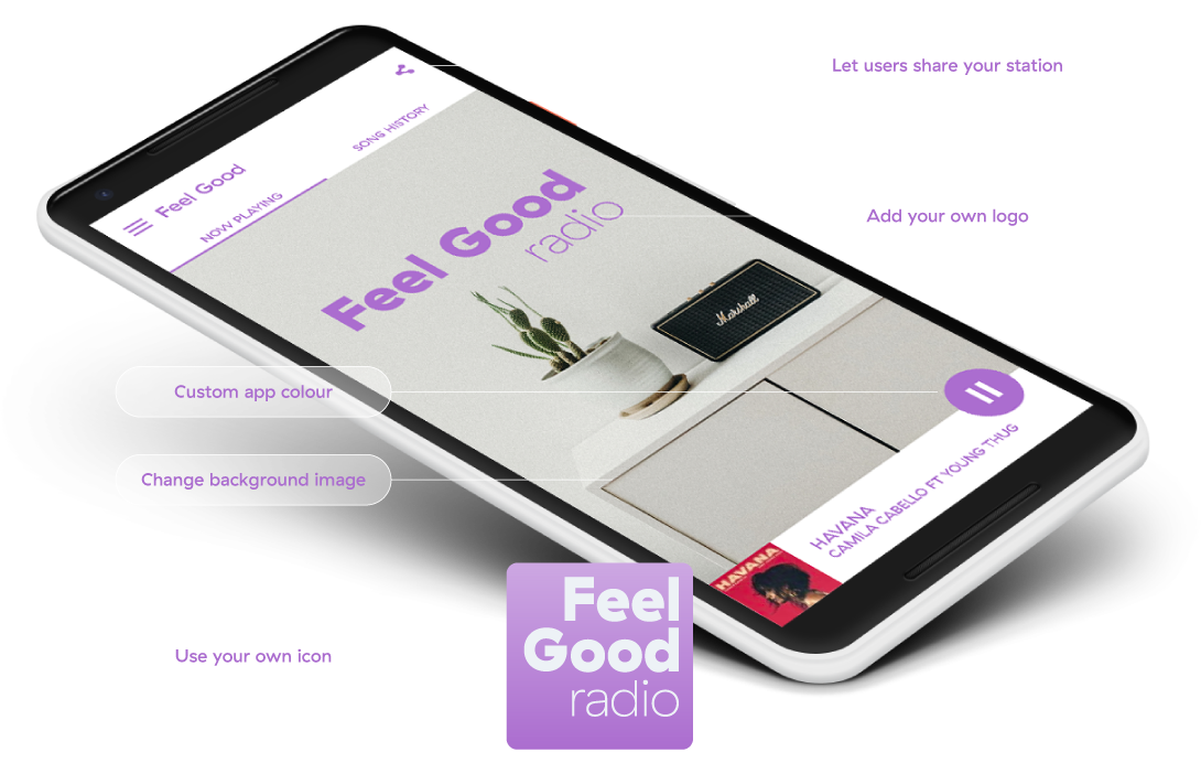 Mobile Apps for Internet Radio | Radio co